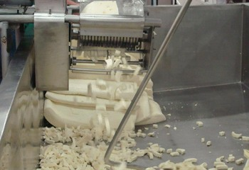 Milling Cheese Curds
