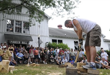 Woodchopping Contest