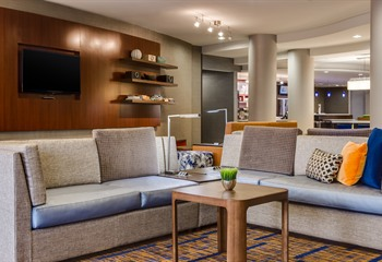 Courtyard Marriott  Ankeny IA Lobby Seating