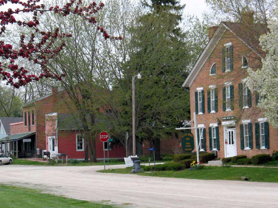 Bentonsport Iowa Map.Bentonsport National Historic District Bentonsport Iowa