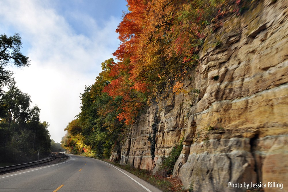 The Scenic Route Get Inspired Iowa Tourism Map Travel