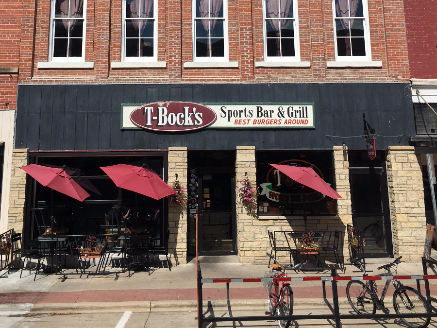 T bock s sports bar grill decorah iowa restaurants