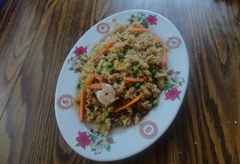 Special Fried Rice at OK Restaurant